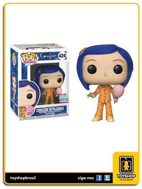 Coraline: Coraline In Pajamas NYCC Exclusivo 424 Pop Funko