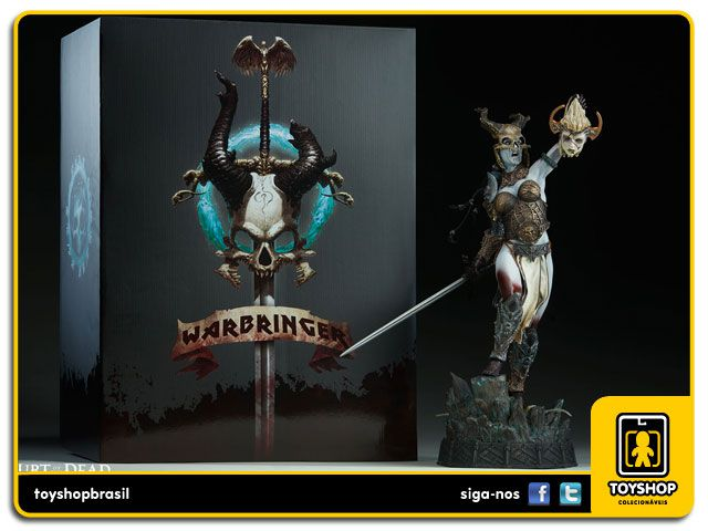 Court of the Dead Kier Death's Warbringer  Premium Format - Sideshow Collectibles