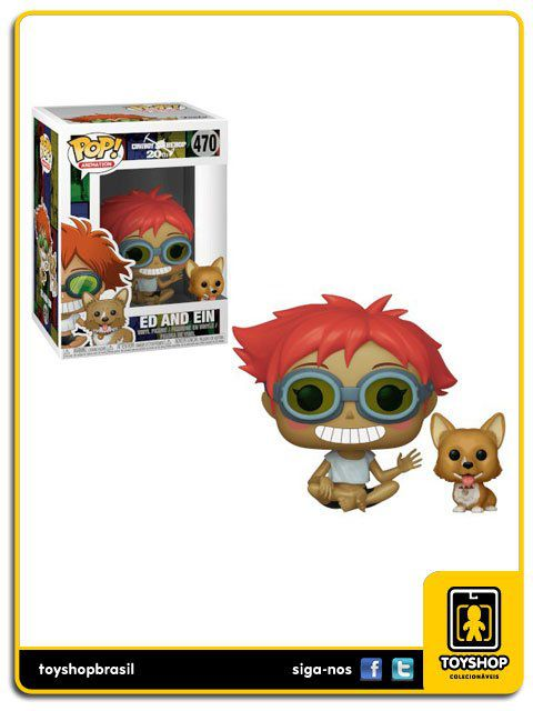 Cowboy Bebop 20th Ed and Ein Pop Funko