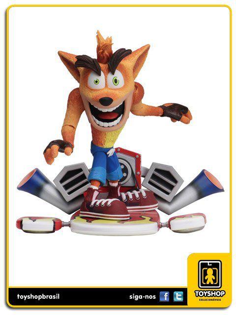 Crash Bandicoot deluxe hoverboard ver Neca