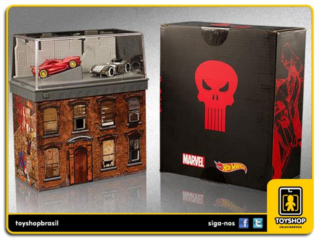 Daredevil VS Punisher SDCC  Hot Wheels
