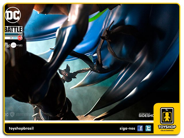 DC Comics: Batman Vs Bane 1/6 Battle Diorama - Iron Studios