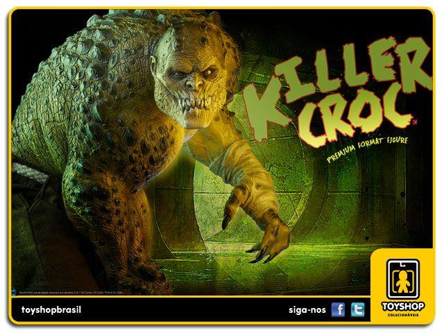 Dc Comics Estátua Killer Croc Premium Format  Sideshow Collectibles