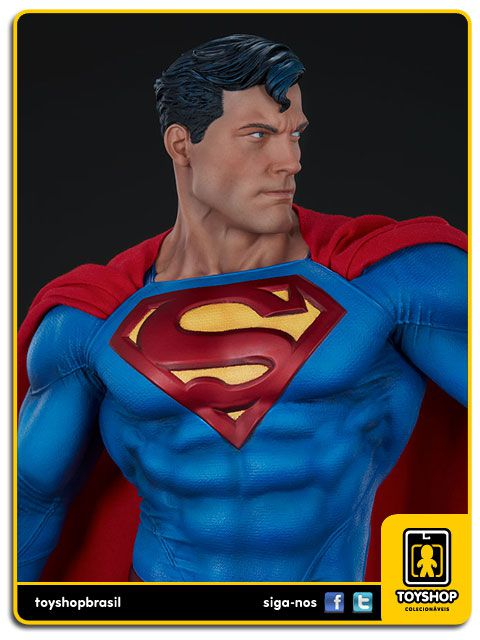 Dc Comics Estátua Superman Premium Format Sideshow Collectibles