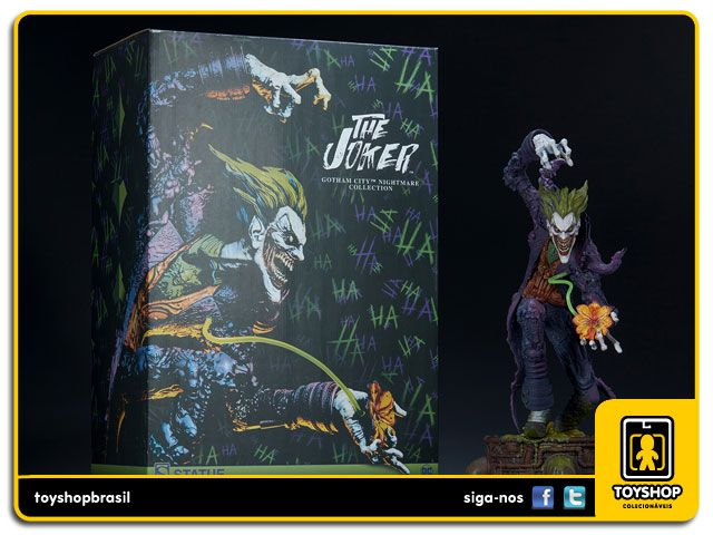 DC Comics Gotham City Nightmare Collection The Joker Sideshow Collectibles
