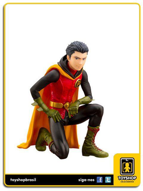 Dc Comics Ikemen Damian Wayne Robin 1/7 Artfx Kotobukiya