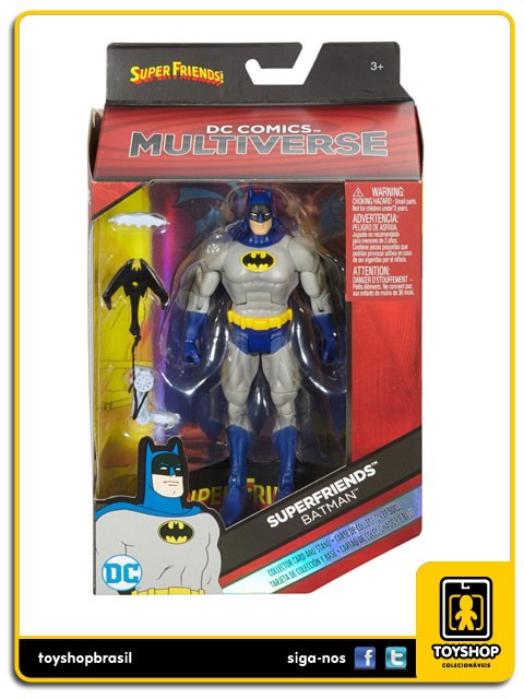 Dc Comics Multiverse  Super Friends Batman  Mattel