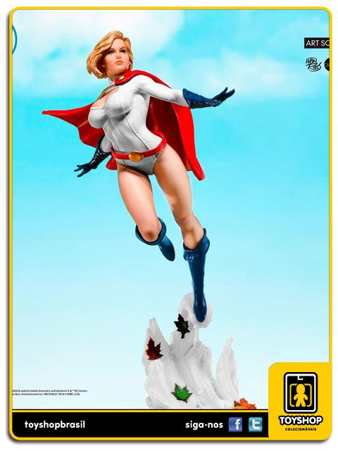 DC Comics Power Girl 1/10 Art Scale By Ivan Reis Iron Studios