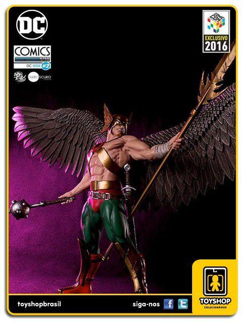 DC Comics Série 2 Hawkman CCXP16 1/10 Art Scale By Ivan Reis  Iron Studios