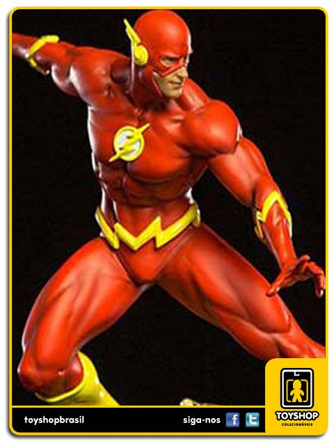 DC Comics Série 3 The Flash 1/10 Art Scale By Ivan Reis Iron Studios