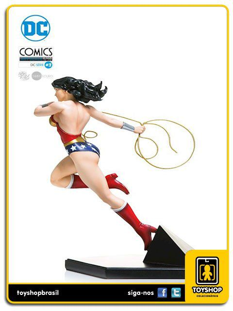 DC Comics Série 3 Wonder Woman  1/10  Art Scale Ivan Reis Iron Studios