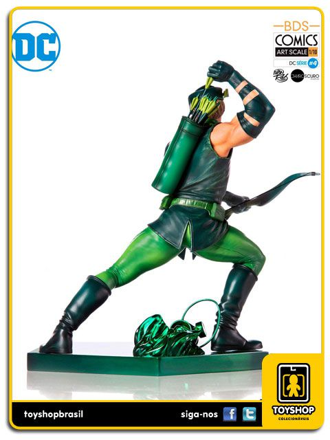 DC Comics Série 4 Green Arrow  BDS 1/10 Art Scale By Ivan Reis Iron Studios