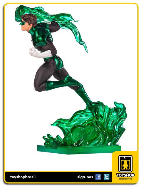 DC Comics Série 4 Green Lantern BDS 1/10 Art Scale By Ivan Reis Iron Studios