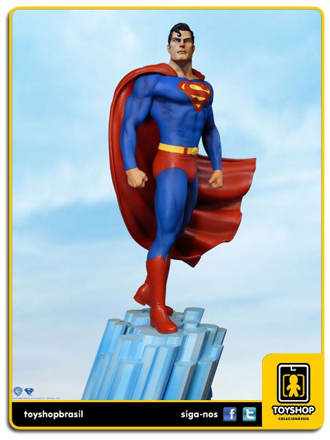DC Comics Super Powers Superman Maquette Tweeterhead