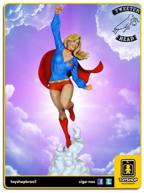 DC Comics Supergirl Maquette Tweeterhead
