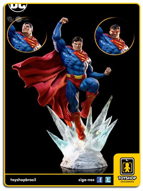 DC Comics Superman by Prime Scale 1/3 By Ivan Reis Iron Studios