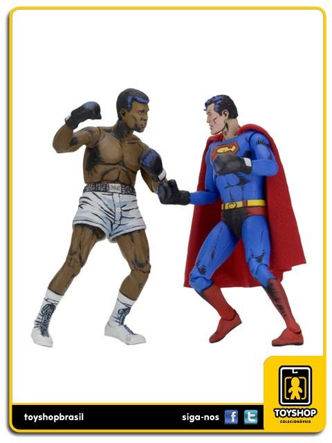 Dc Comics  Superman vs Muhammad Ali Special Edition 2-Pack Neca