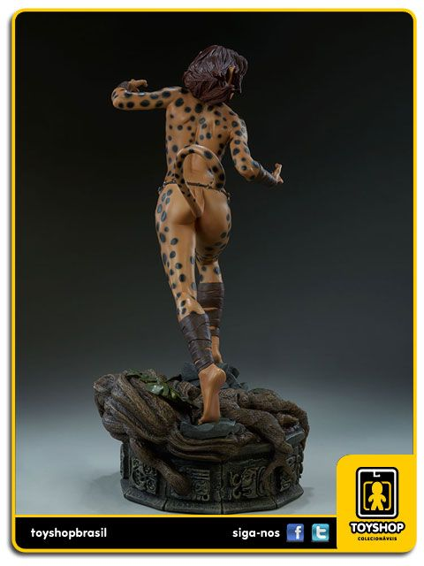 Dc Comics  The Cheetah Premium Format  Sideshow Collectibles
