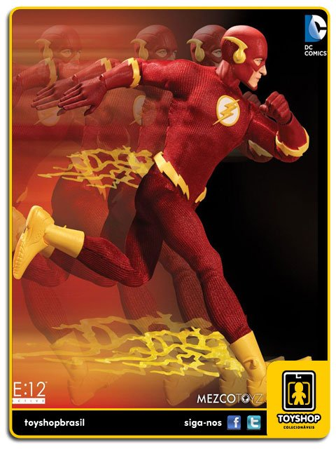 DC Comics  The Flash One 12  Mezco