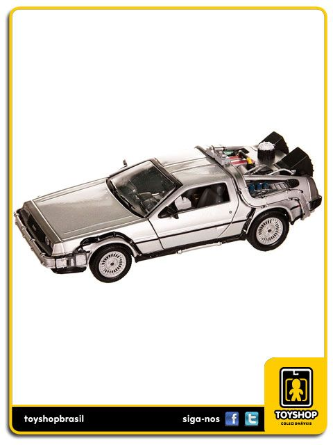 De Volta Para O Futuro Filme 2 Delorean 1:24 Welly