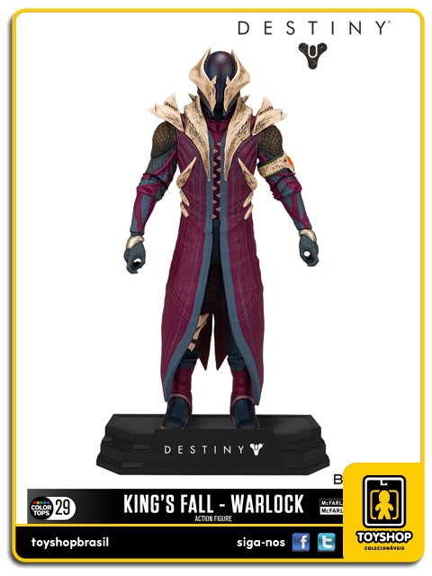 Destiny Kings Fall Warlock Color Tops Mcfarlane Toys