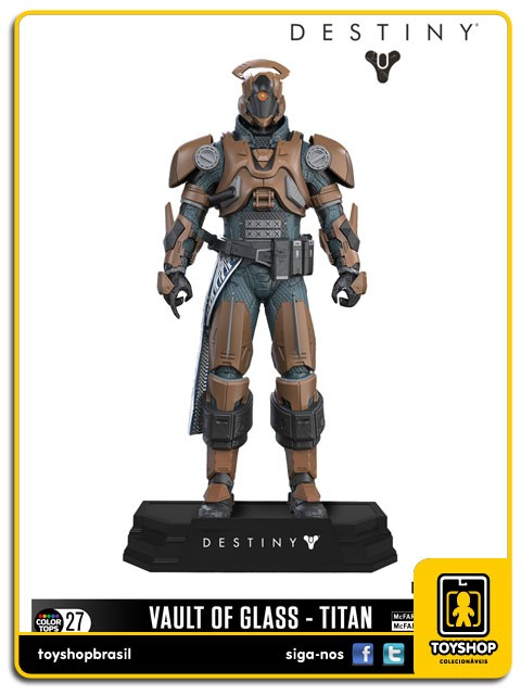 Destiny Vault of Glass Titan Color Tops Mcfarlane Toys