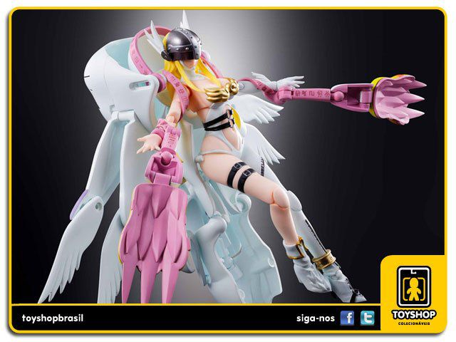 Digimon 04 Angewomon   Digivolving Spirits Bandai