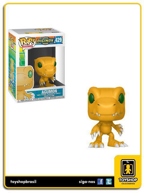 Digimon Agumon 429 Pop Funko
