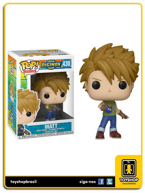 Digimon Matt 430 Pop Funko