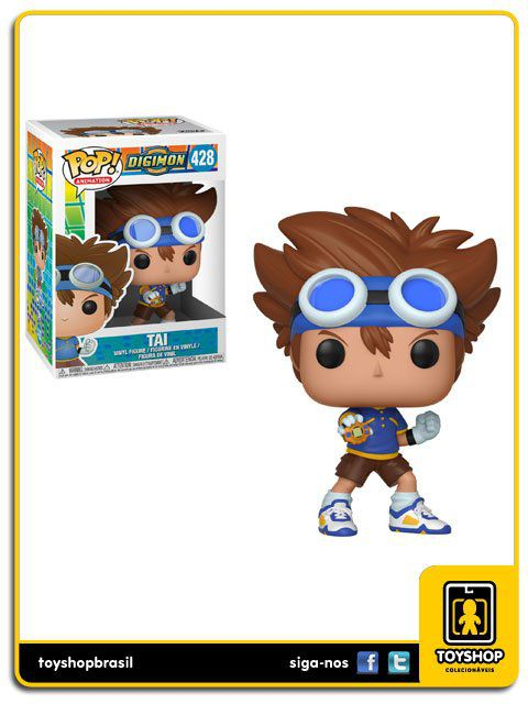 Digimon Tai 428 Pop Funko