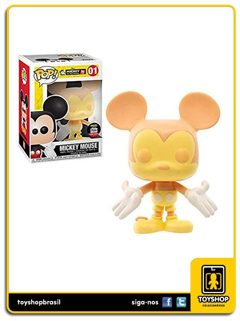 Disney Mickey 90th Mickey Mouse Peaches & Cream 01 Exclusivo Pop Funko
