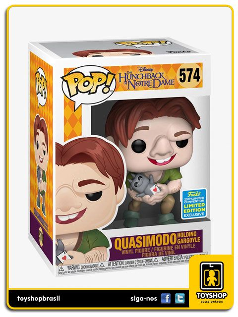 Disney The Hunchback Of Notre Dame Quasimodo 574 Pop Funko