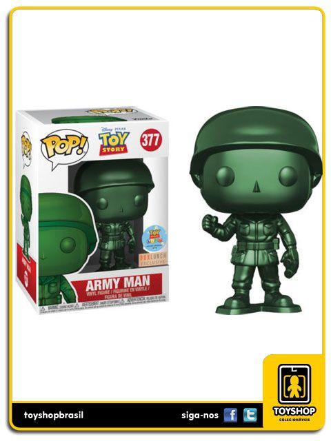 Disney Toy Story Army Man Exclusivo 377 Pop Funko