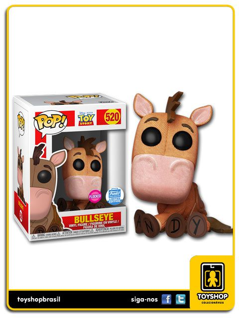 Disney Toy Story Bullseye Shop Exclusive 520 Pop Funko