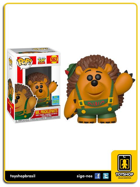 Disney Toy Story Mr. Pricklepants Sdcc2019 562 Pop Funko