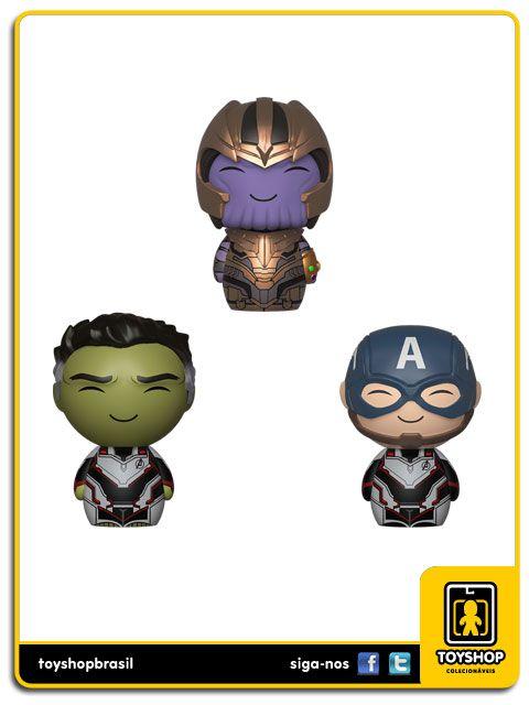 Dorbz Marvel Avengers Endgame 3-Pack Bundlel Funko