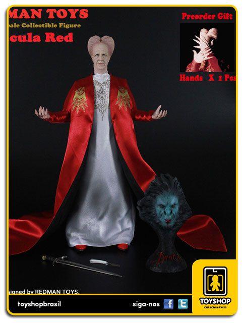 Dracula Bram Stoker: Dracula Red RM032 1/6 Redman Toys