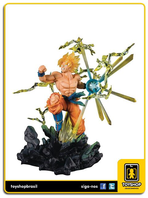 Dragon Ball Figuarts Zero Super Saiyan Goku The Burning Battles Bandai