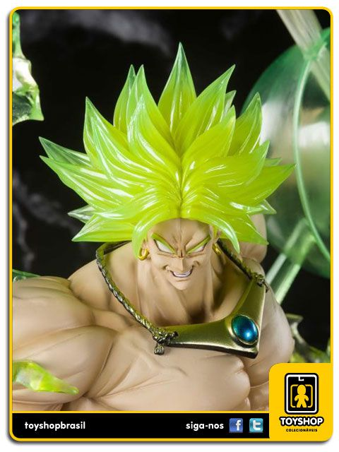 Dragon Ball  Figuarts Zero Super Saiyan Broly The Burning Battles Bandai