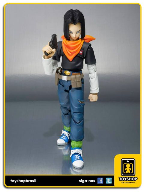 Dragon Ball Z S.H. Figuarts  Android 17  Bandai