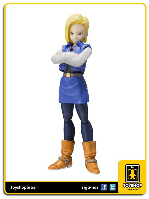 Dragon Ball Z S.H. Figuarts Android 18 Bandai