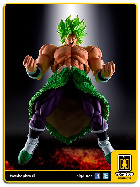 Dragon Ball Z S.H. Figuarts Broly Full Power Bandai