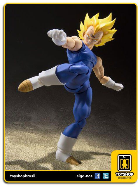 Dragon Ball Z S.H. Figuarts Majin Vegeta  Bandai