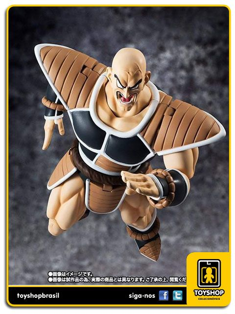 Dragon Ball Z S.H. Figuarts Nappa Scouter  Bandai