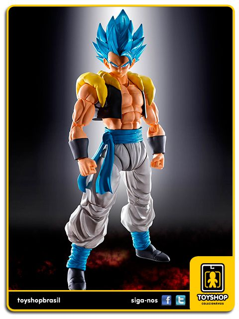 Dragon Ball Z S.H. Figuarts Super Saiyan God Gogeta Bandai