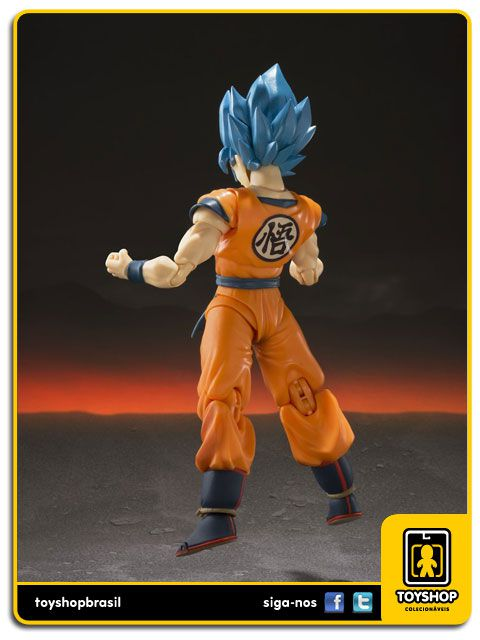 Dragon Ball Z S.H. Figuarts Super Saiyan God Goku Bandai