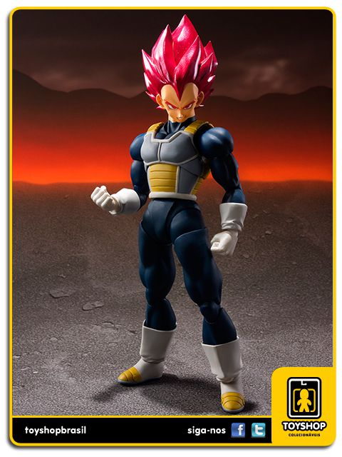 Dragon Ball Z S.H. Figuarts Super Saiyan God Vegeta Bandai