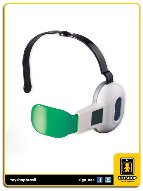 Dragon Ball Z Scouter Verde Cosplay Bandai