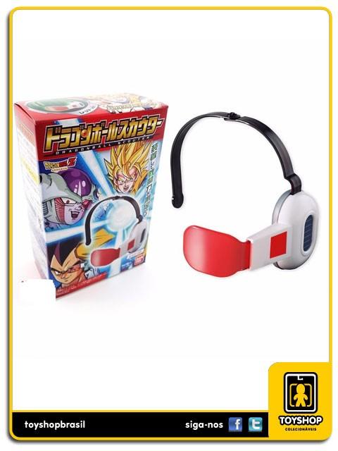 Dragon Ball Z Scouter Vermelho Cosplay Bandai