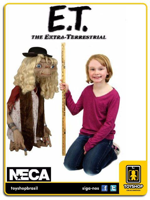E.T. the Extra-Terrestrial: Stunt Puppet Dress-Up E T  1:1 - Neca